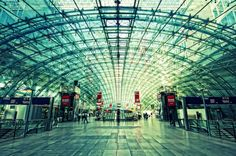 How many times did I try to find my way around this place? Frankfurt, Germany – Flughafen (Airport)