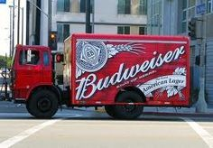 budweiser delivery truck