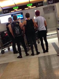 Imagine: walking into the airport and seeing this