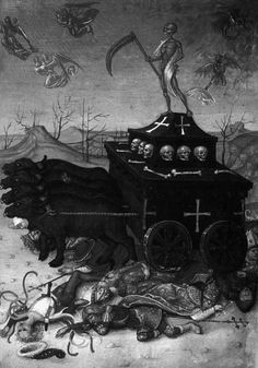 chaosophia218:  Triumph of Death, 16th century.