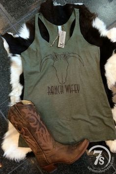 The Ranchette – ranch wifey tank from Savannah Sevens Western Chic