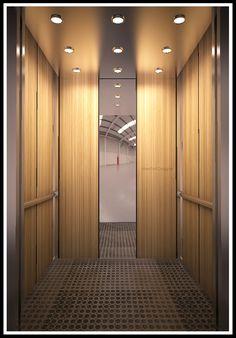 new york elevator cab design - Google Search                                                                                                                                                     More