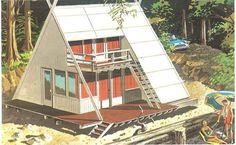 I love A Frame houses!