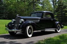 1934 Buick 60 Series 3-Window Sport Coupe