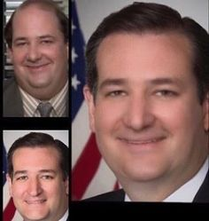Low key Ted Cruz has been Brian Baumgartner this whole time