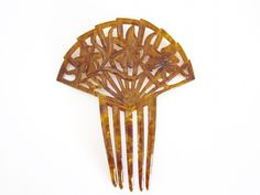 Decorative Hair Comb Art Deco Hair Comb Small by ThePassionateFlea