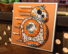 BB-8 - Star Wars String Art *** fait main à commande ***