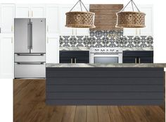Charming A Kitchen Island Lighting Guide. How Many Light Fixtures? How Big Should  The Lights Be? How Far Apart? How High Above The Island?