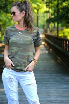 For All Things Lovely: Camo Chic