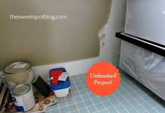 How to Sell House Fast!: Finish Projects & Repairs by The Sweet Spot Blog