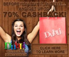 Cash back for shopping online