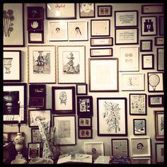 Beautiful photo wall