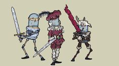 Some main character sets for Feudal Alloy. Best Indie Games, Robots Drawing, Medieval, How To Draw Hands, Character Design, Doodles, Hand Drawn, Action, Fish