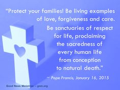 Let´s pray for our families and with our families! Read more at: www.news.va/en/news/pope-francis-to-families-be-examples-of-holiness-p