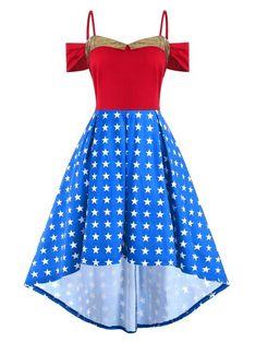Dacawin Vintage Women Off Shoulder Princess Dress Solid Floral Lace Cocktail Dress Hepburn Skirt