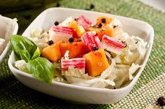 Sałatka z krabami i papają - wypróbuj sprawdzony przepis. Odwiedź Smaczną Stronę Tesco.