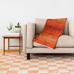Buy Orange Aztec Pattern 2 Throw Blanket by Corbin Henry. Worldwide shipping available at Society6.com. Just one of millions of high quality products available.
