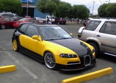 Compact Veyron made from EG6