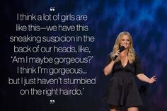 Amy Schumer talks secret positivity.