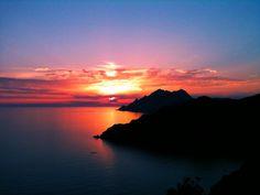 Photograph Corsica Sunset by Lorenzo Bensi on 500px