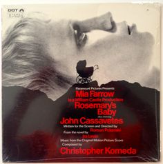 Rosemary's Baby - Music From The Motion Picture Score SEALED LP Vinyl Record Album Dot Records - DLP 25875 1968 Original Pressing