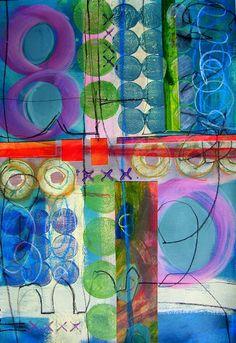 collage journeys: Winner of Blick Studio Acrylics GIveaway Is....