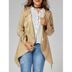 SHARE & Get it FREE   Asymmetric Plus Size Open Front CoatFor Fashion Lovers only:80,000  Items·FREE SHIPPING Join Dresslily: Get YOUR $50 NOW!