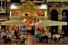 Majestic Cafe, Porto, Portugal: o local onde JK Rowling escreveu o primeiro livro Harry Potter!