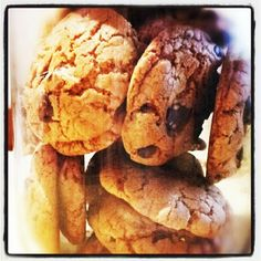 CCCC- Chewy Chocolate Chip Cookies... One my my classics.