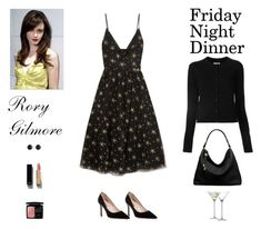 """""""Contest: """"Gilmore Girls"""" - Rory Gilmore Friday Night Dinner Outfit"""" by billsacred ❤ liked on Polyvore featuring LSA International, Maison Margiela, Valentino, SJP, Michael Kors, Irene Neuwirth, Chanel and Christian Dior"""