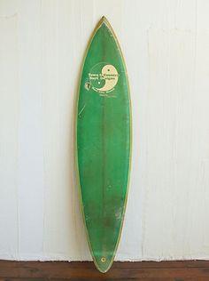 Vintage T Surf Designs Surfboard