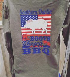 New Southern Darlin' $29.95  #madisonsbluebrick #downtownhotsprings #southerndarlin #casual #shoplocal