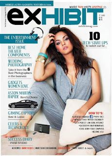 Neetu Chandra on The Cover of Exhibit Magazine – August 2012. | Bollywood Cleavage