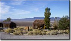 Nevada ghost town - Berlin-Ichthyosaur State Park - click on this picture to get info about Berlin.
