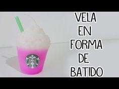 Como hacer velas de Starbucks - decora tu cuarto - Tutoriales Belen - YouTube