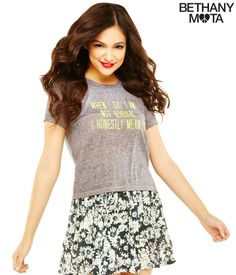 Not Normal Graphic T from Bethany Mota collection at Aeropostale
