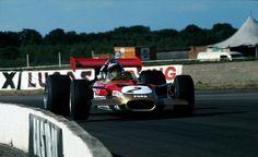 Jochen Rindt, Gold Leaf Lotus-Ford 49B, 1969 British Grand Prix, Silverstone