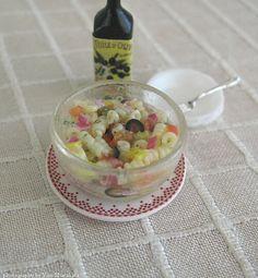 1/12th scale miniatures - Pasta salad