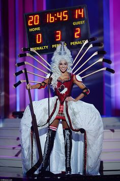 BarDown: Miss Canada nailed it with the costume portion of Miss Universe 2015