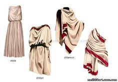 Древняя греция костюмы богов