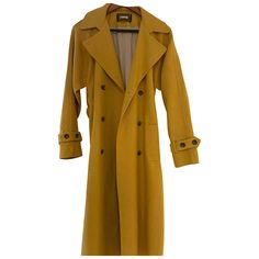 Buy your linen trench coat Reformation on Vestiaire Collective, the luxury consignment store online. Second-hand Linen trench coat Reformation Yellow in Linen available. Mellow Yellow, Reformation, Luxury Consignment, Color Inspiration, Duster Coat, Trench Coats, Clothes For Women, Jackets, Collection
