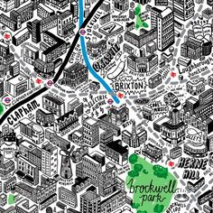 jenni sparks map of london