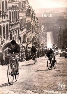 "The good old days, at least we hope they were. Was there ever really a ""clean"" time in #cycling?"
