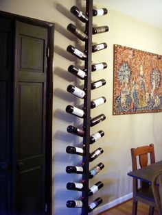 Stinger's Home-Made Wine Rack -- @Wendy Cunningham -- I want this! haah