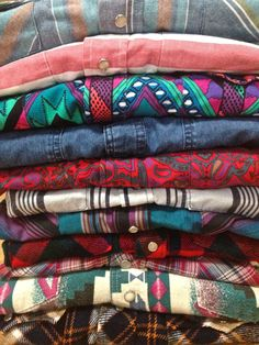 Westerns Shirts for Men or Women Retro Snap Button Front