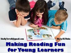 making-reading-fun-for-kids by Shelly Terrell via Slideshare