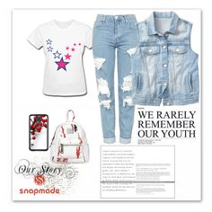 """""""Snap made 12"""" by sabypolivore ❤ liked on Polyvore featuring Topshop, Gap and Samsung"""