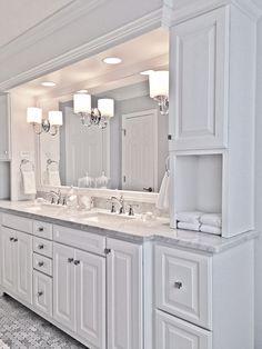 bathroom remodel with tub - bathroom remodel ` bathroom remodel on a budget ` bathroom remodel small ` bathroom remodel master ` bathroom remodel ideas ` bathroom remodel diy ` bathroom remodel before and after ` bathroom remodel with tub Ideal Bathrooms, Modern Bathroom, Small Bathroom, Shower Bathroom, Bathroom Grey, White Bathrooms, Shower Tiles, Minimalist Bathroom, Contemporary Bathrooms