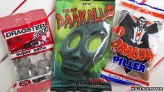 Finnish salmiakki sweets. The article is hilarious!