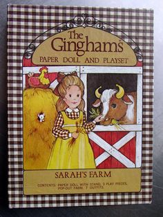 """""""The Ginghams"""" paper dolls"""